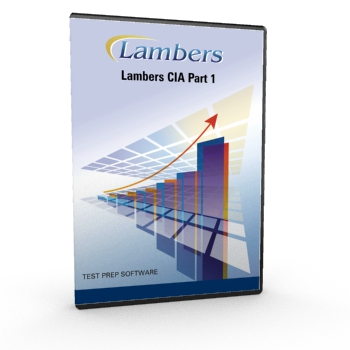 CIA 3 Part Exam Part 1 Test Prep Software