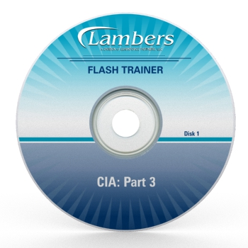CIA 3 Part Exam Part 3 Flash Trainer