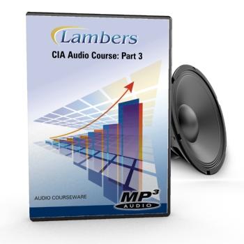 CIA Review Audio Course: Part 3