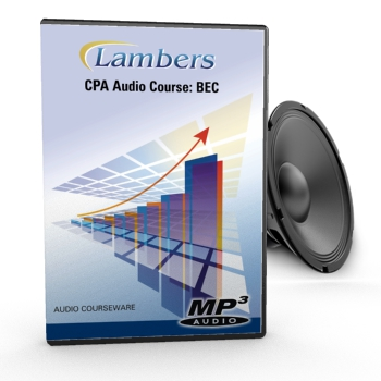 CPA Review Audio Course: BEC