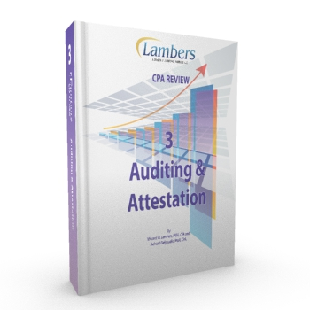 CPA Review Textbook: Auditing