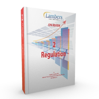 CPA Review Textbook: Regulation