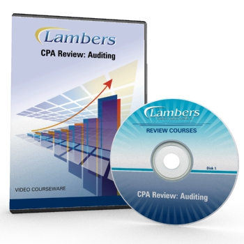 CPA Review Video Courseware: Auditing