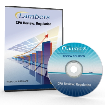 CPA Review Video Courseware: Regulation