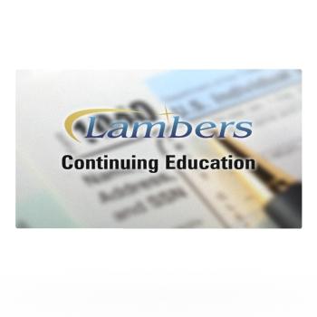 Lambers 15 hour IRS CE Bundle