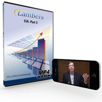Lambers iPod Video Courseware CIA Part 3