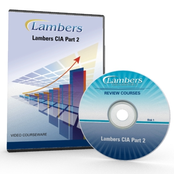 Lambers Video Courseware CIA Part 2